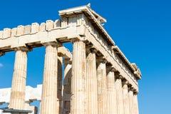 Parthenon von Athen stockbilder