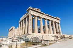 Parthenon w Akropolu, Ateny Zdjęcia Royalty Free