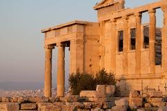 Parthenon w Ateny Akropolis, Grecja, UE Zdjęcia Stock