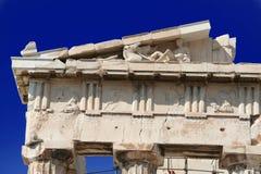 Parthenonakropolis Athen Lizenzfreies Stockbild