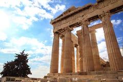 Parthenonas Arkivfoto