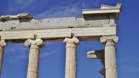 Parthenonen, akropol, Aten specificera Fotografering för Bildbyråer