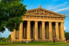 Parthenonen i Nashville Royaltyfri Fotografi