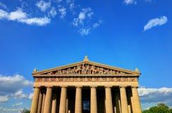 Parthenonen i Nashville, Tennessee Arkivfoton