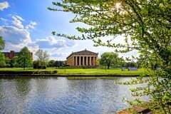 Parthenonen i Nashville, Tennessee Royaltyfria Foton