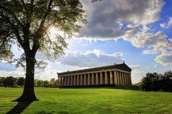 Parthenonen i Nashville, Tennessee Arkivbild