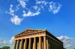 Parthenonen i Nashville, Tennessee Fotografering för Bildbyråer