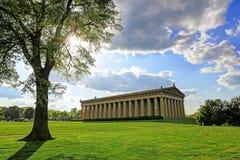 Parthenonen i Nashville, Tennessee Arkivbilder