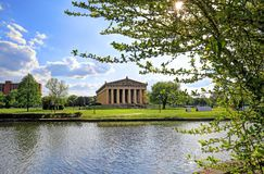 Parthenonen i Nashville, Tennessee Royaltyfri Bild