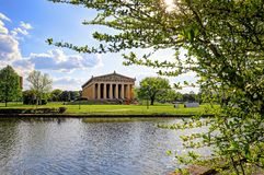 Parthenonen i Nashville, Tennessee Arkivfoto