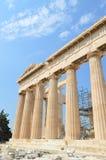 Parthenontempel in Akropolis in Athene, Griekenland op 16 Juni, 2017 Stock Fotografie
