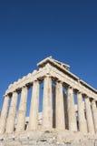 Parthenontempel in der Akropolise Stockfotos
