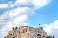 Parthenontempel i akropol Royaltyfri Foto