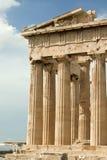 Parthenontempel på akropolen i Aten, Grekland Royaltyfria Foton