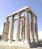 Partheon in ruins. Partheon in Athens Royalty Free Stock Images