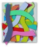 Parti-Colored Hintergrund Lizenzfreies Stockbild