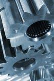 Parti d'acciaio e di titanio fotografia stock libera da diritti