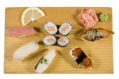 Parti dei sushi Immagine Stock Libera da Diritti