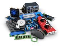 Parti del computer e del computer portatile royalty illustrazione gratis