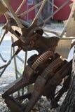 Parti del mulino a vento Fotografie Stock Libere da Diritti