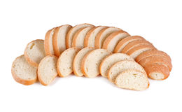 Parti del pane della pagnotta Fotografia Stock Libera da Diritti