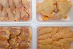 Parti del pollo Fotografie Stock