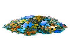Parti del puzzle Immagini Stock