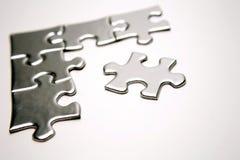Parti del puzzle Immagini Stock Libere da Diritti