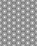 Parti del puzzle grigio Fotografia Stock