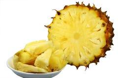 Parti dell'ananas Fotografia Stock Libera da Diritti