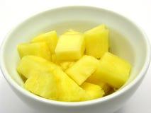 Parti dell'ananas fotografie stock libere da diritti