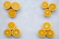 Parti dell'arancio Immagine Stock