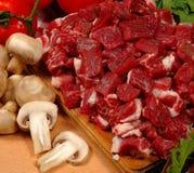 Parti della carne Immagini Stock Libere da Diritti