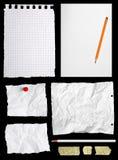 Parti della carta da lettere Fotografia Stock