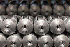Parti della fusion d'alluminio Immagine Stock Libera da Diritti