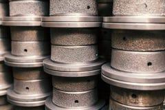 Parti della fusion d'alluminio Immagini Stock