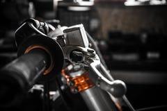 Parti della motocicletta Fotografia Stock