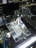 Parti della muffa tagliate cavo di taglio a macchina di CNC Immagini Stock Libere da Diritti