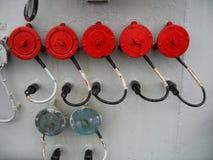 Parti della nave Immagini Stock