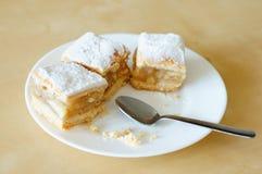 Parti della torta di mele Fotografia Stock Libera da Diritti