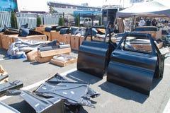 Parti di automobile classiche Immagine Stock Libera da Diritti