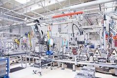 Parti di fabbricazione per il motore Fotografia Stock Libera da Diritti