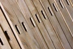 Parti di legno del carpentiere Immagini Stock Libere da Diritti