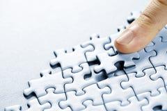 Parti di puzzle Fotografia Stock Libera da Diritti