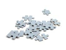Parti di puzzle Immagini Stock