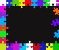 Parti di puzzle Immagine Stock Libera da Diritti