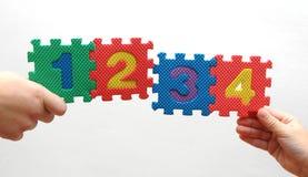 Parti di puzzle di Immagini Stock Libere da Diritti