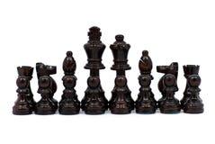 Parti di scacchi Fotografie Stock