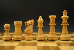 Parti di scacchi Immagini Stock Libere da Diritti