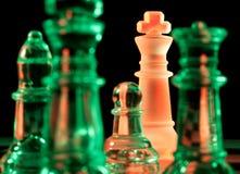 Parti di scacchi Fotografia Stock